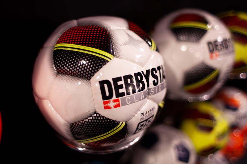 Voetbal-close-up
